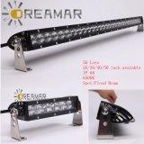 lente de la barra ligera 5D de la fila LED del Sigle del CREE 5W, punto/inundación/disponible combinado