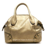 Plutônio feito sob encomenda Leather Handbag de Newest Design Women com Long Strap (ZX20368)