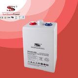 Bateria acidificada ao chumbo da bateria de Opzv do gel da série 2V 350ah de Opg da manufatura de Sunstone