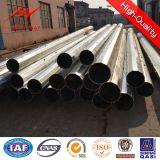 11kv Niederspannung galvanisierter elektrischer Stahlpole