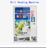 Máquina automática Faling Bill expendedora en el hotel