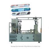 Machine de remplissage automatique genre saucisse de puate d'étanchéité de silicones