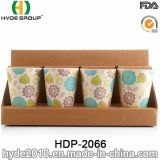 2017 copos de café de bambu Eco-Friendly populares da fibra (HDP-2066)