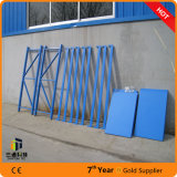 Cremalheira do Shelving do metal, cremalheira da sapata da dobradura, unidade do Shelving 4-Tier