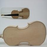 Ungefirnisste feste Violinen-Musikinstrument-Kursteilnehmer-Violine