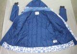 Revestimento respirável impermeável azul de Softshell do inverno do Mens Yj-1064