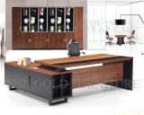 Hotsaleマレーシアのオフィス表デザイン黒現代CEOの机(SZ-OD356)