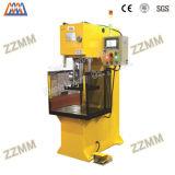 Prensa hidráulica de la sola columna del C-Marco del PLC para el montaje de la prensa de los componentes eléctricos (HP-100C)