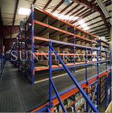Sistema resistente do assoalho de mezanino do armazenamento do armazém de Q235B