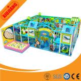 Cour de jeu d'intérieur de jeu mou complétée par thème d'océan pour des enfants