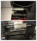 Presse typographique non tissée de sac de plastique de 2 couleurs
