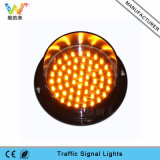 Customized 125mm Traffic Light Parts Yellow LED Traffic Lamp