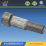 Forja de acero al carbono para piezas de maquinaria