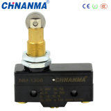 15A Panel Mount Cross Roller Plunger Micro Switch