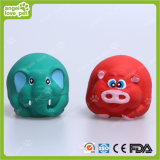 Hundevinylquietschendes Flusspferd-Haustier-Spielzeug (HN-PT285)