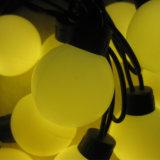 Lumière de chaîne de caractères de Noël de la bille DEL pour l'usage extérieur
