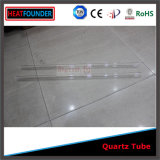 El ozono transparente libre del tubo de cuarzo pulido