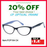 Jonge Dame Cheap Price Plastic Optical Frame van de manier