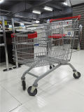 Популярный европейский тип супермаркет ягнится магазинная тележкаа