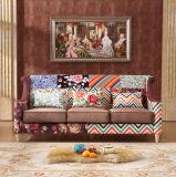 Mobília ajustada da sala de visitas do sofá moderno novo o mais atrasado do projeto 2016