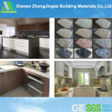 Quartz Countertops From中国の高いPolished Kitchen Cabinets