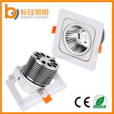 Carré Aluminium Shell COB Light 15W Plafonnier 85-265V LED Spot Lamp