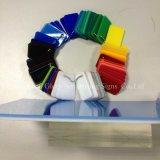 Il doppio colore di plastica ha lanciato la scheda acrilica per la decorazione
