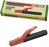 600A 800A amerikanischer Kupfer-Überzug Eisen-Schweißens-Elektroden-Halter, amerikanischer Schweißens-Elektroden-Halter 300A/400A/500A/800A