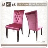 Стул гостиничного номера Flannelette пинка хорошего качества (JY-T292)