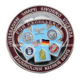 Spezielles Design Military Challege Coin mit Soft Enamel (Ele-C030)