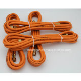 Hochfestes Weaving Fiber Braided Working Pressure 20bar Flexible Rubber Gas Cooker Hose