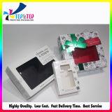 Caixa de empacotamento de dobramento de papel de Colónia da laminação luxuosa de Matt