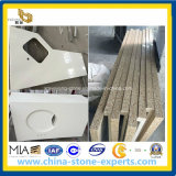 Surface solido Artificial Quartz Stone Countertop per Kitchen (YYAZ)