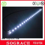 Iluminación de tira rígida de aluminio del LED