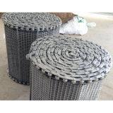 の熱い処置工業のためのステンレス鋼ワイヤーコンベヤーベルト食品加工
