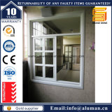 Security Grill를 가진 전기 이동법 Champagne Glass Aluminum Sliding Window
