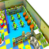 Rosafarbenes Candy House Indoor Playground für Children