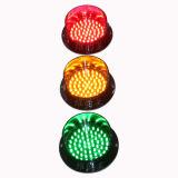 125mm personalizado tráfico de piezas de la luz ámbar de la lámpara LED de tráfico