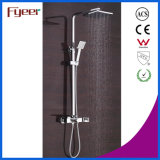 Fyeer 2016 New LED Waterfall Faucet Rainfall Banheira e chuveiro