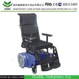 Rehabilitación plegable Silla de ruedas eléctrica de alimentación del motor para sillas de ruedas
