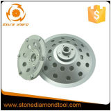 Diamant-reibendes Cup dreht Diamant-reibende Hilfsmittel mit PCD