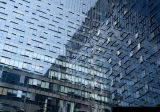 Modèle de système en verre de mur rideau de structure métallique