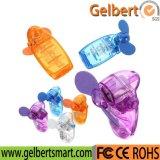 Miniarbeitsweg-Feiertags-beweglicher Pocket Handkühlventilator