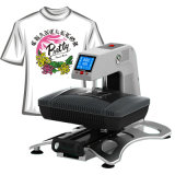 Machine d'impression pneumatique de transfert thermique de T-shirt de sublimation du vide 3D (ST-420)