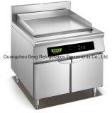 温度のレストランのための調節可能で平らな誘導のグリドル鍋