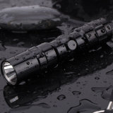 LED Single Modes 1AA Batt Aluminum Flashlight