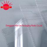 Ясный мешок печатание коллектора перлы BOPP с планкой прилипателя собственной личности