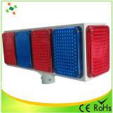 Grande lampeggiante a energia solare/indicatore luminoso d'avvertimento di traffico LED