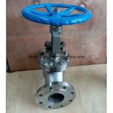 DIN Pn16 a moulé le robinet d'arrêt sphérique d'extrémité de bride de l'acier inoxydable CF8
