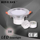 5W diodo emissor de luz Downlight de 3.5 polegadas iluminam-se para baixo com a lâmpada do teto de Ce&RoHS